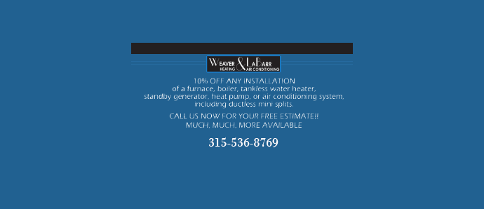 Weaver & LaBarr Heating & Air Conditioning